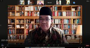 Prof. Dr. Nadirsyah Hosen, LLM., MA., Ph.D. (Rais Syuriah Pengurus Cabang Istimewa Australia dan Dosen Monash University Melbourne Australia)